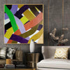 Oil on canvas art | Abstract acrylic painting on canvas F255-7