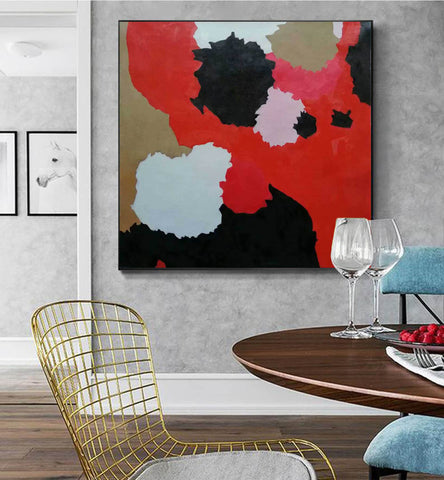 Image of Large abstract painting | Modern contemporary art F256-6
