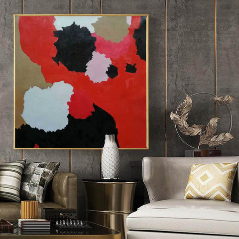 Image of Large abstract painting | Modern contemporary art F256-8