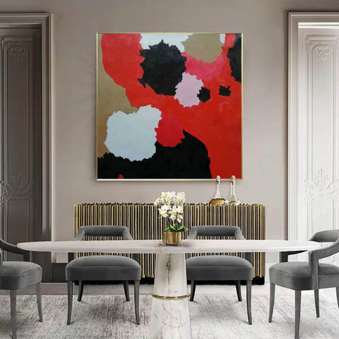 Image of Large abstract painting | Modern contemporary art F256-2
