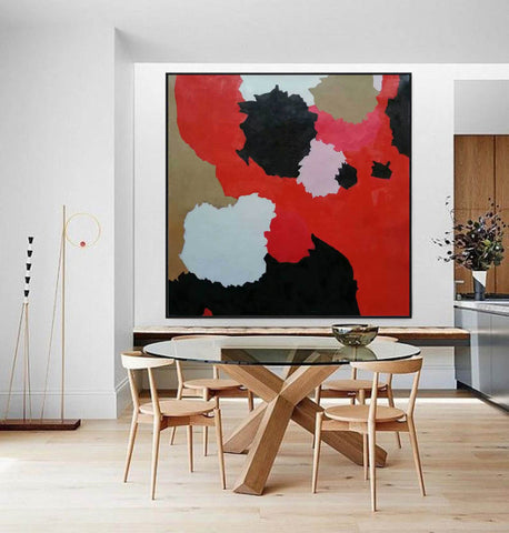 Image of Large abstract painting | Modern contemporary art F256-1