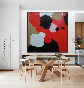 Large abstract painting | Modern contemporary art F256-1
