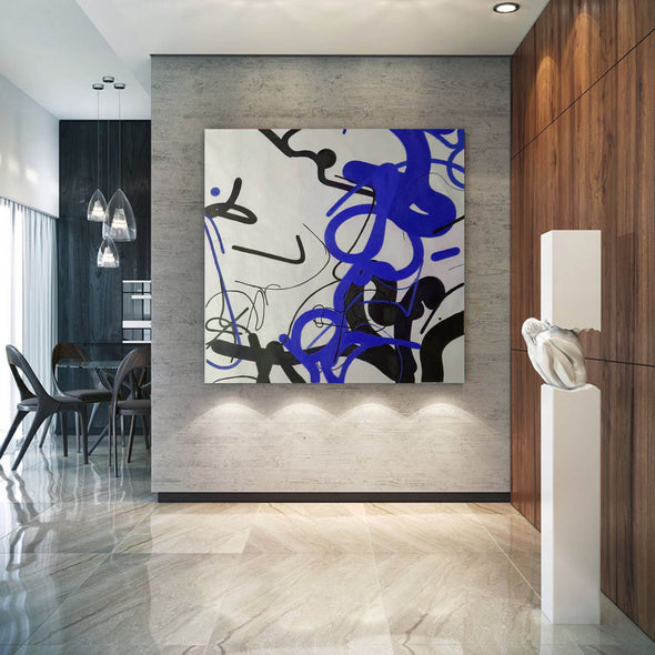 Contemporary abstract painting | Abstract painting images F257-1