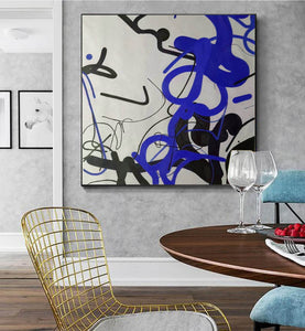 Large wall art, Large paintings F257-2