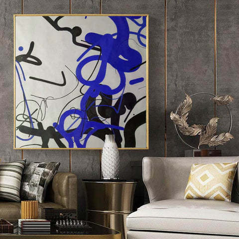 Image of Large wall art, Large paintings F257