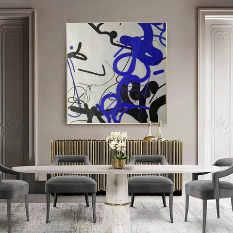 Image of Large wall art, Large paintings F257-5