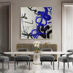 Large wall art, Large paintings F257-5