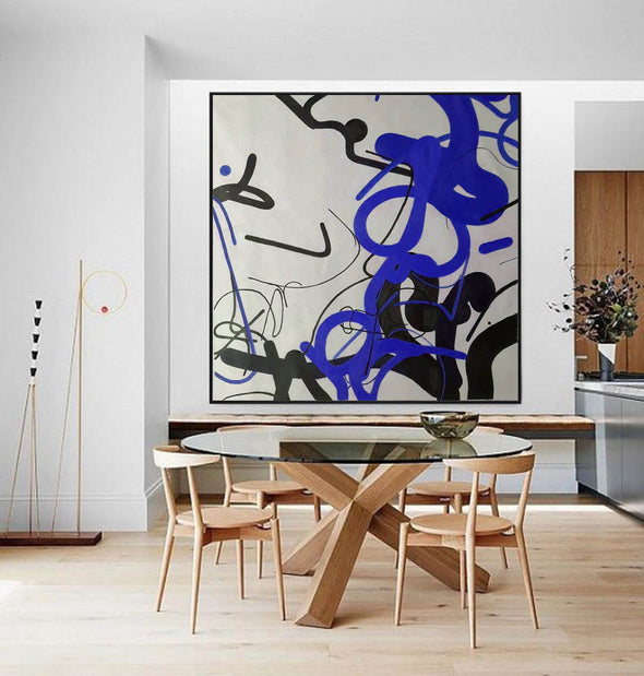 Contemporary abstract painting | Abstract painting images F257-6