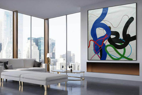 Image of Copy of Large wall art, Large paintings F257