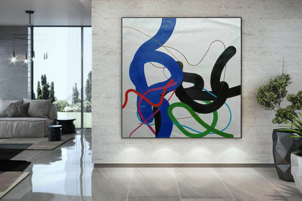 Contemporary art paintings | Modern canvas painting F258-3