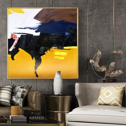 Image of Oversized canvas art, Large painting canvas F259-4