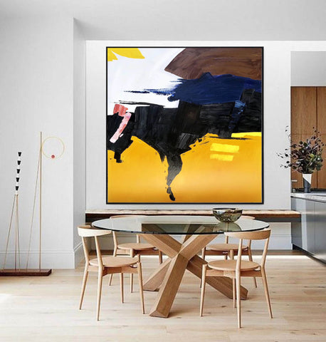 Image of Oversized canvas art, Large painting canvas F259-6