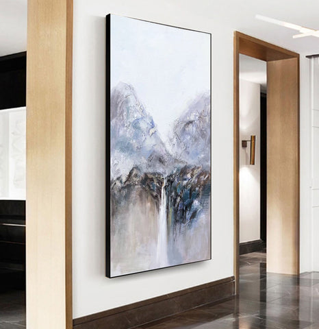 Image of Very large canvas wall art, Large contemporary wall art paintings F219-1