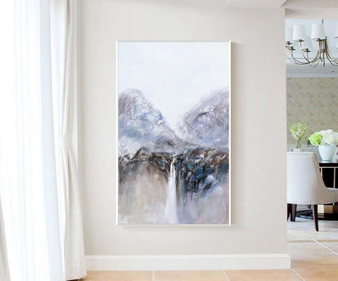 Image of Very large canvas wall art, Large contemporary wall art paintings F219-2