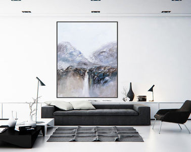 Very large canvas wall art, Large contemporary wall art paintings F219-8