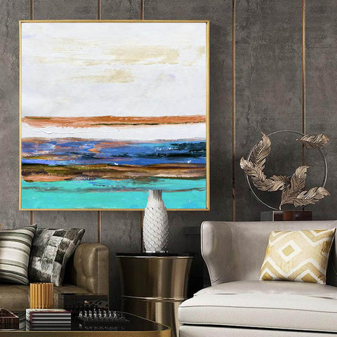Oversized wall art, Extra large canvas F261-2
