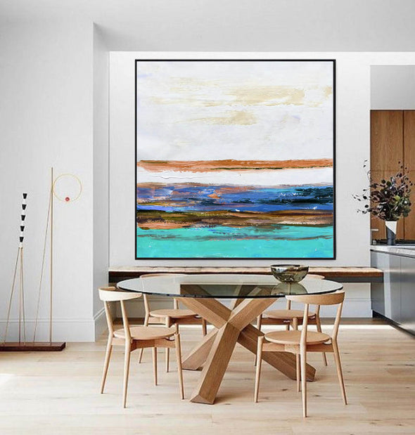 Canvas art painting | Contemporary canvas art F261-9