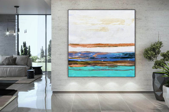 Canvas art painting | Contemporary canvas art F261-1