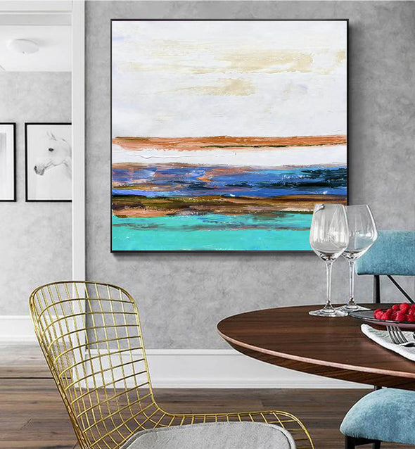 Canvas art painting | Contemporary canvas art F261-2