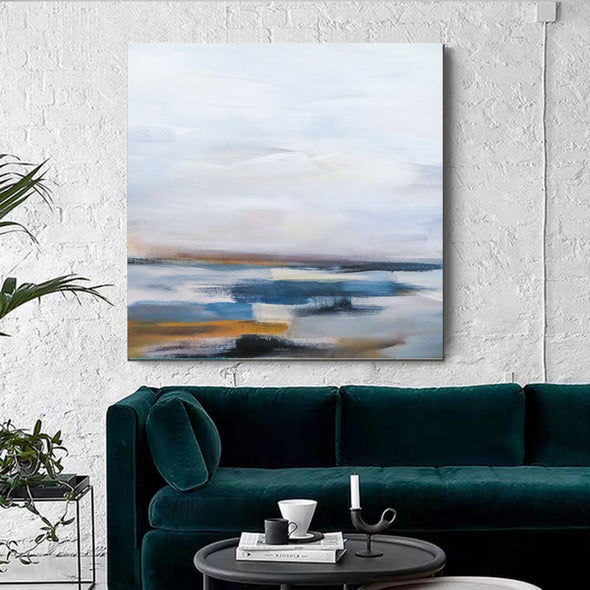 Large abstract art, Canvas art F264-2