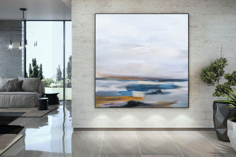 Large abstract art, Canvas art F264-7