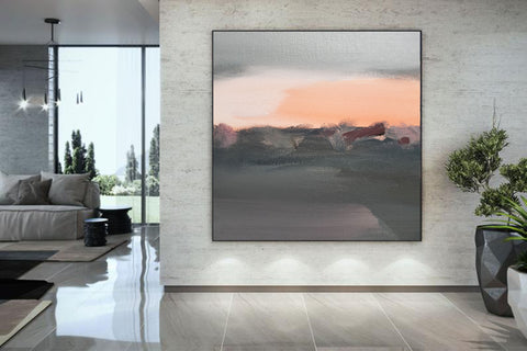 Big canvas painting, Huge canvas F265-6