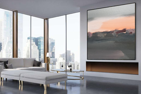 Big canvas painting, Huge canvas F265-9
