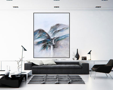 Extremely large wall art, Large modern oil paintings F220-1