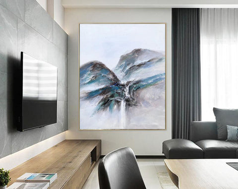 Extremely large wall art, Large modern oil paintings F220-3