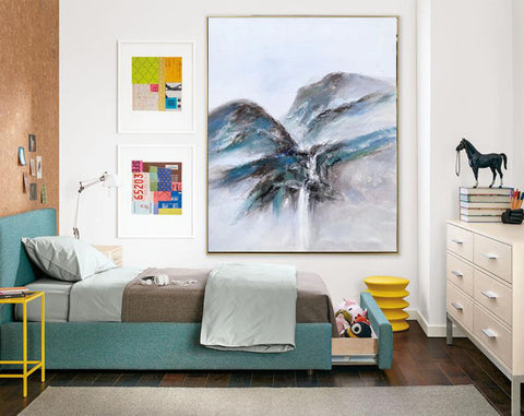Extremely large wall art, Large modern oil paintings F220-5