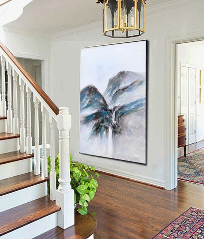 Extremely large wall art, Large modern oil paintings F220-8