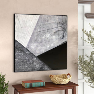 Contemporary abstract wall art | Large canvas art abstract F298-7