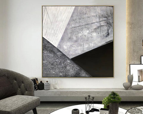 Contemporary abstract wall art | Large canvas art abstract F298-9