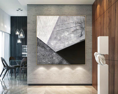 Contemporary abstract wall art | Large canvas art abstract F298-2