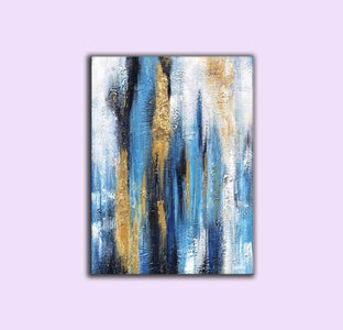Oil painting art, Large canvas contemporary art F222-7