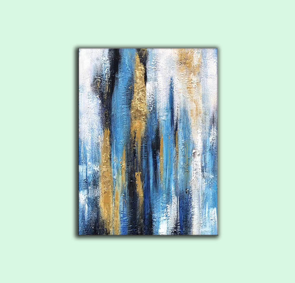Modern abstract | Oil on canvas art F299-3