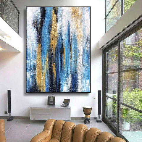 Oil painting art, Large canvas contemporary art F222-1