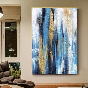 Oil painting art, Large canvas contemporary art F222-2
