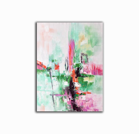 Image of Contemporary oil paintings, Large canvas wall F224-5
