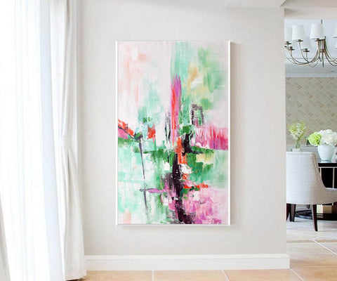 Contemporary oil paintings, Large canvas wall F224-6