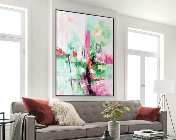 Contemporary oil paintings, Large canvas wall F224-9