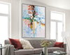 Original abstract paintings, Extra large contemporary art F225-1