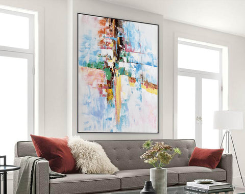 Image of Original abstract paintings, Extra large contemporary art F225-1