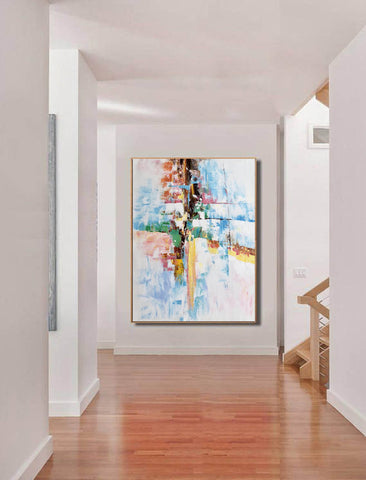 Image of Original abstract paintings, Extra large contemporary art F225-5