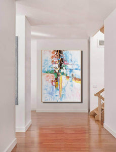 Original abstract paintings, Extra large contemporary art F225-5