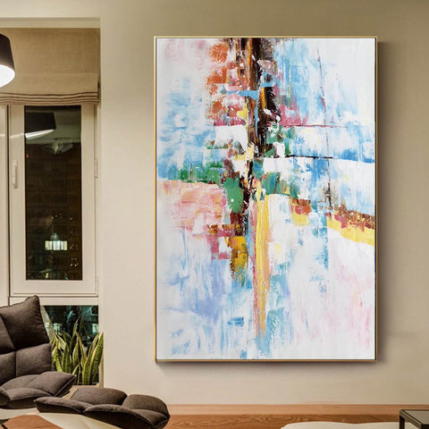 Image of Original abstract paintings, Extra large contemporary art F225-7