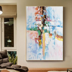 Original abstract paintings, Extra large contemporary art F225-7