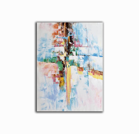 Original abstract paintings, Extra large contemporary art F225-8