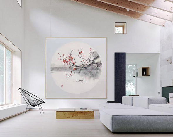 Large abstract painting | Original Abstract Painting F274-8
