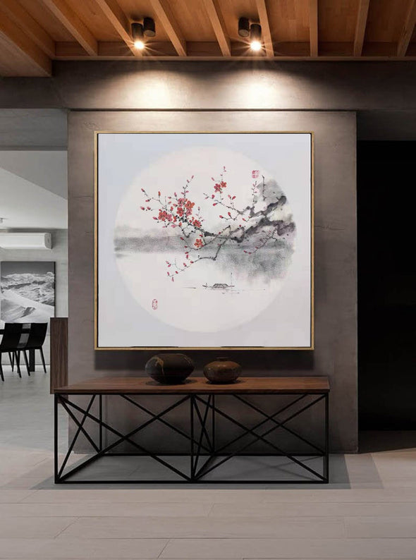 Large abstract painting | Original Abstract Painting F274-9